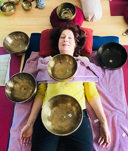 formation sonothérapie aux bols tibétains chantants