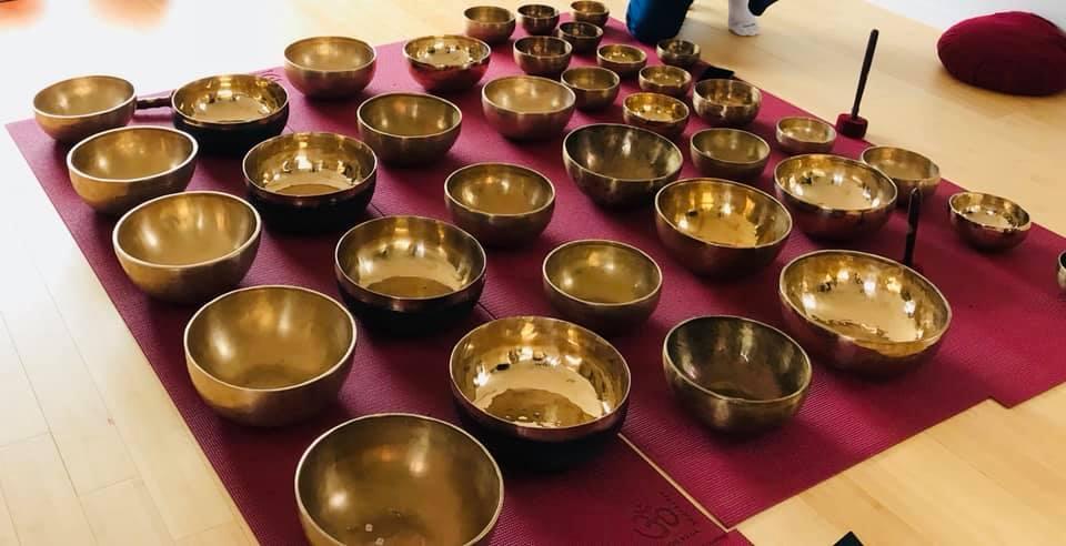 Instruments vibratoires à l'institut Padma