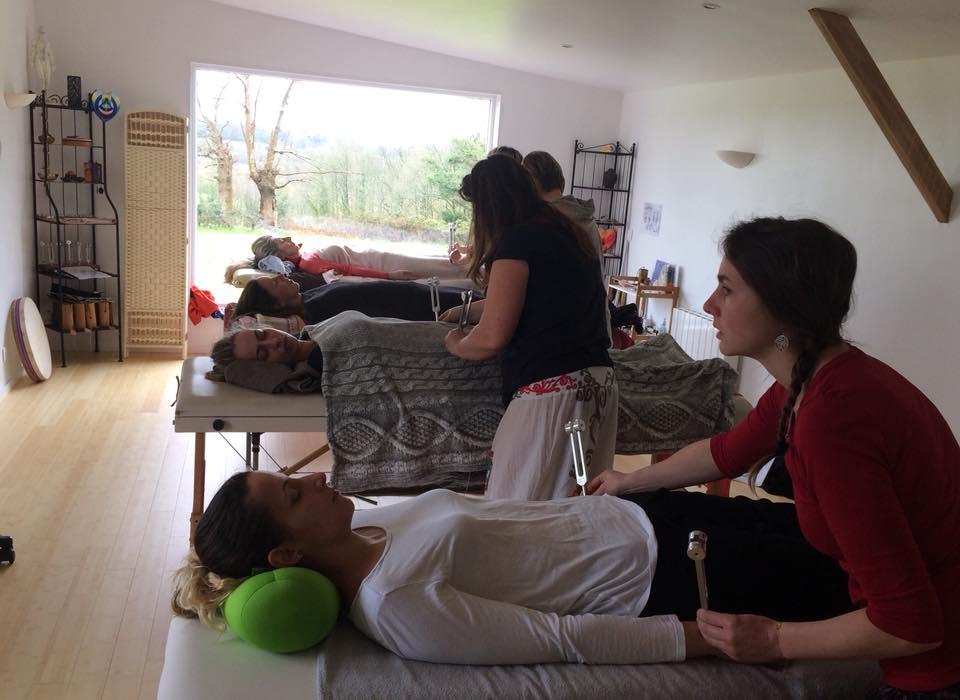 Stage de massage sonore avec les diapasons