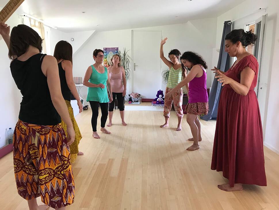 Retraite féminin sacré à l'Institut Padma