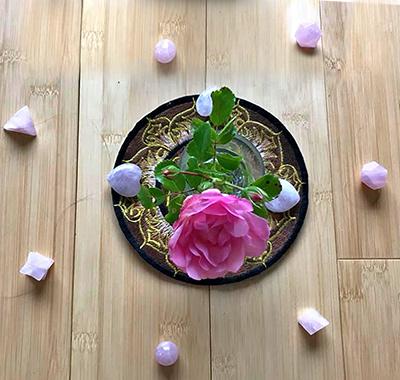 Soin Au nom de la Rose à l'Institut Padma